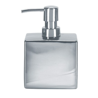 Kleine Wolke dávkovač mýdla Glamour stříbrná