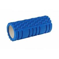 Fitness wałek do masażu niebieski, 33 x 15 cm