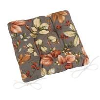 Pernă de scaun matlasată Ema Frunze, 40 x 40 cm