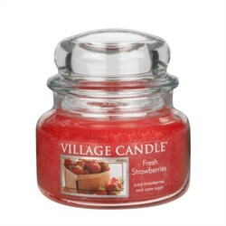 Village Candle Vonná svíčka, Čerstvé jahody - Fresh Strawberry, 269 g, 269 g