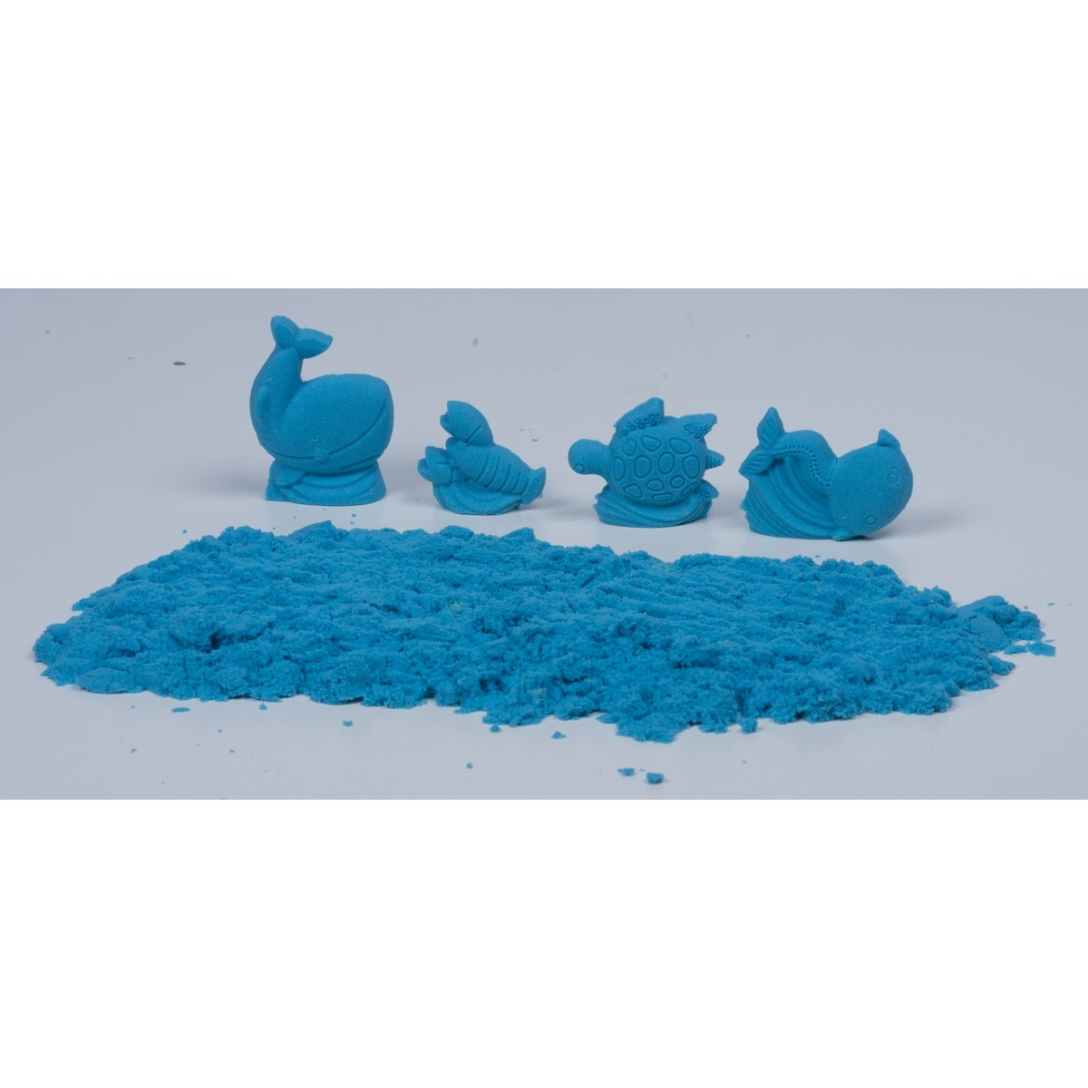 Modelovací písek, modrá