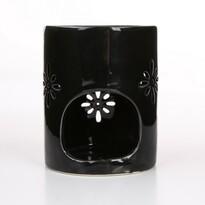 """Lampa aromatyczna Altom """"Abi"""" 8x10cm, czarny"""