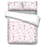 Lenjerie de pat AmeliaHome Sweet Dreams, din flanelă, 140 x 200 cm, 70 x 90 cm