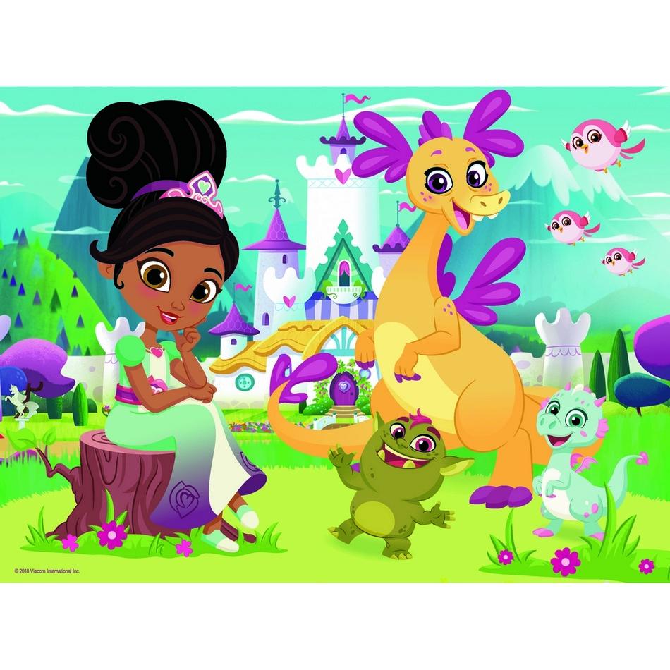 Puzzle TREFL Nella princezna rytířů: Bezstarostná zábava 30 dílků