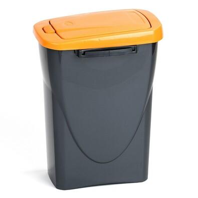 Koš na třídění odpadu oranžový