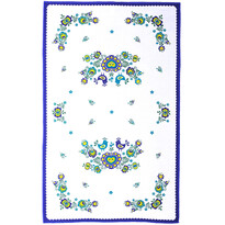 Șervet Folclor, albastru, 45 x 70 cm