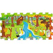 Trefl Penové puzzle Les 8 dielikov, 117 x 60 cm