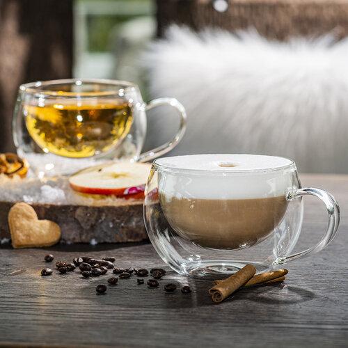 Pahare Termo cappuccino 4Home Hot&Cool 280 ml, 2 buc.