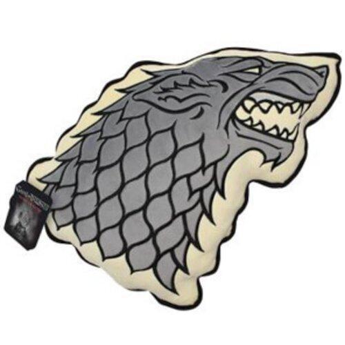 Tvarovaný polštářek Game Of Thrones Stark, 35 x 33 cm
