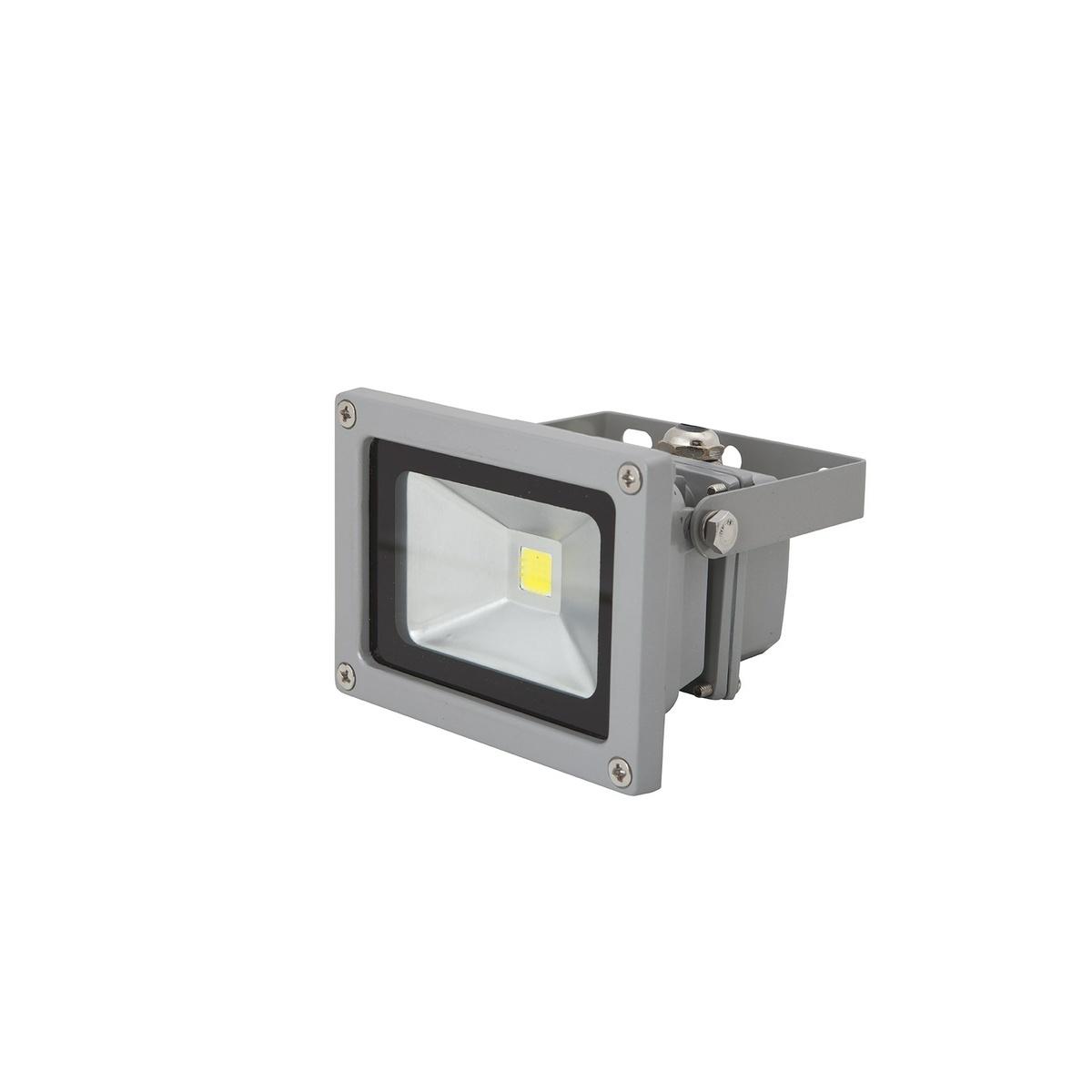 LEDMED COB LED VANA vonkajši reflektorové svítidlo  10W, aluminium neutrálny