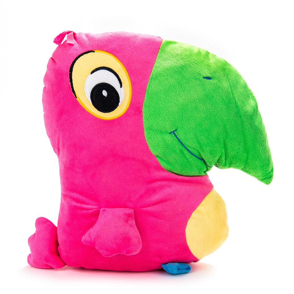 BO-MA Trading Papagáj ružový, 38 x 36 cm
