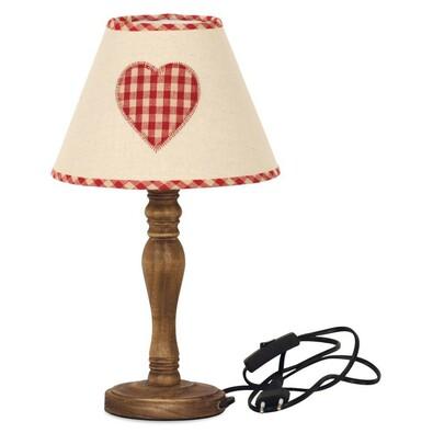 Stolní lampa Heart