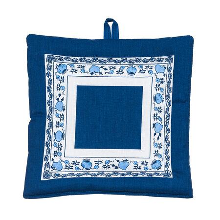 Hagyma alátét kék, 20 x 20 cm