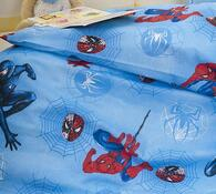 Dětské povlečení Spiderman, 90 x 130 cm, 40 x 60 cm