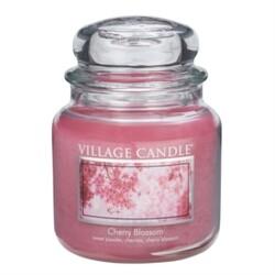 Village Candle Świeczka zapachowa Kwiat czereśni - Cherry Blossom, 397 g