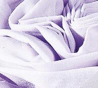 Plátěné prostěradlo na gumu, fialová, 2 ks 90 x 200 cm