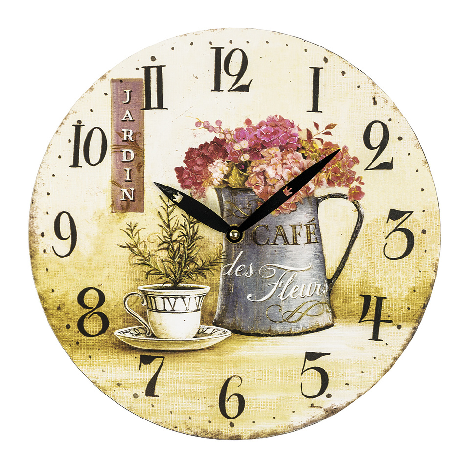 Nástěnné hodiny Jardin