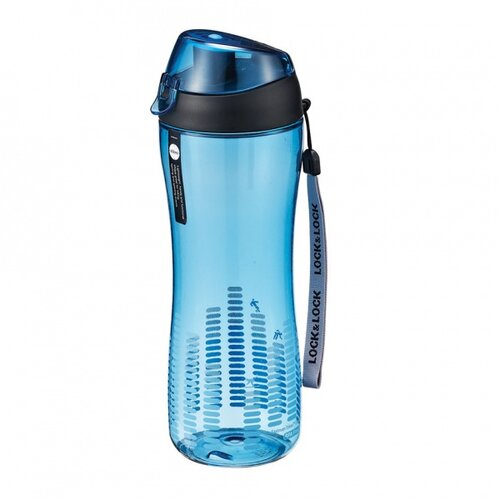 LOCKnLOCK Športová fľaša na pitie 550 ml, modrá