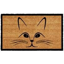 Kokosová rohožka Mačacia hlava, 43 x 73 cm