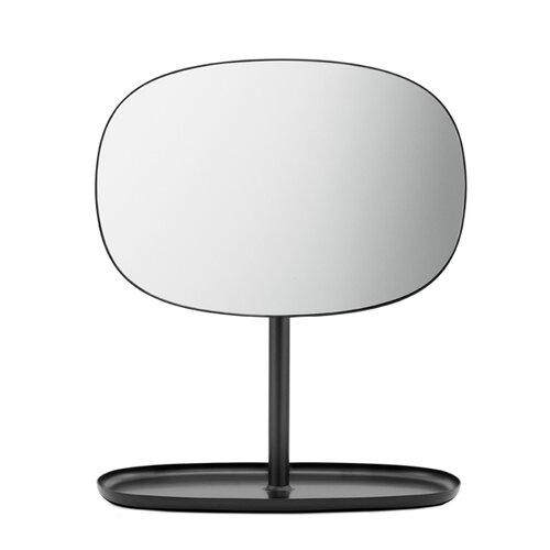 Normann Copenhagen Zrkadlo Flip Mirror, čierne