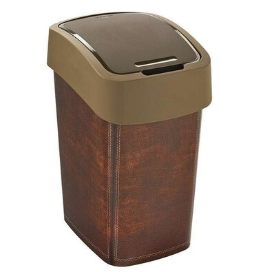 Curver FLIPBIN odpadkový koš 25 l leather