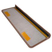 Nakładka na schody Eton prostokąt winny, 24 x 65 cm