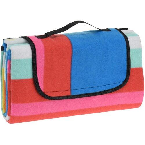 Pikniková deka Colored stripes, 130 x 150 cm