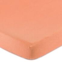 4Home Jersey prestieradlo s elastanom lososová, 160 x 200 cm