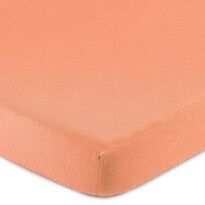 4Home Jersey prostěradlo s elastanem lososová, 160 x 200 cm