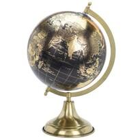 Zlatý glóbus s pr. 20 cm na zlatom podstavci