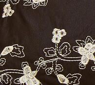 Dámská luxusní kabelka, tmavě hnědá