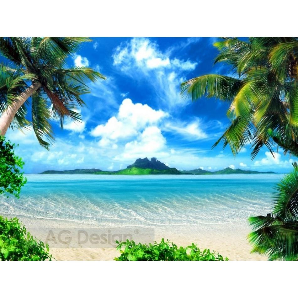 Fototapeta pláž 270 x 360 cm, Hornschuch