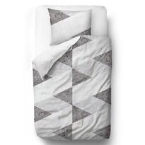 Butter Kings Geometric pattern szatén ágynemű, 140 x 200 cm, 70 x 90 cm
