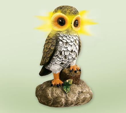 Solární dekorace sova