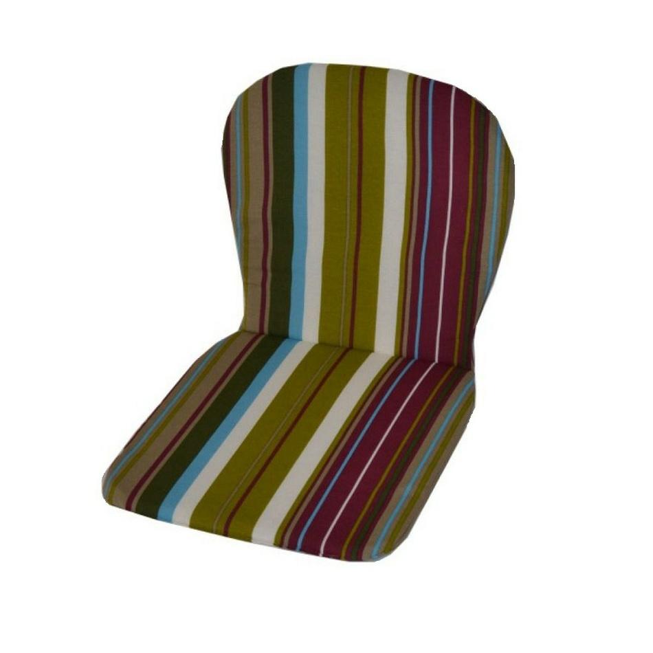 Polstr nízký na plastové židle, vzor Monoblock P02