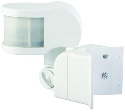 Solight PIR Senzor rohový venkovní bílý