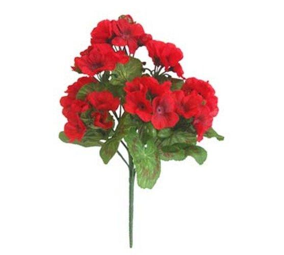 Umelá kvetina muškát, 30 cm