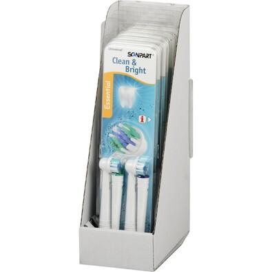 Náhradní výměrnné hlavy Scanpart Essential pro kartáčky Oral-B, 4 ks