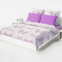 Domarex Narzuta na łóżko dziecięca BUTTERFLY, 150 x 200 cm