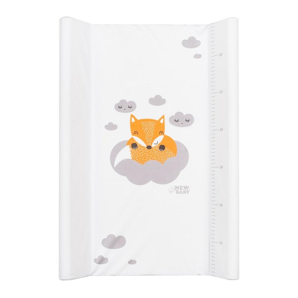 Přebalovací nástavec New Baby Liška bílý 50x70cm