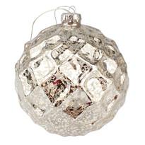 Bożonarodzeniowa ozdoba świecąca Trivento, srebrna