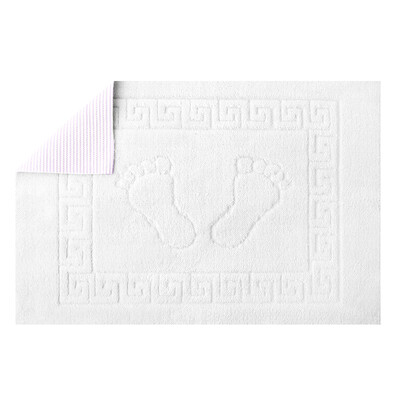 Kúpeľňová predložka Barefoot bílá, 50 x 70 cm