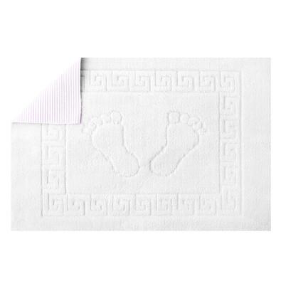 Koupelnová předložka Barefoot bílá, 50 x 70 cm