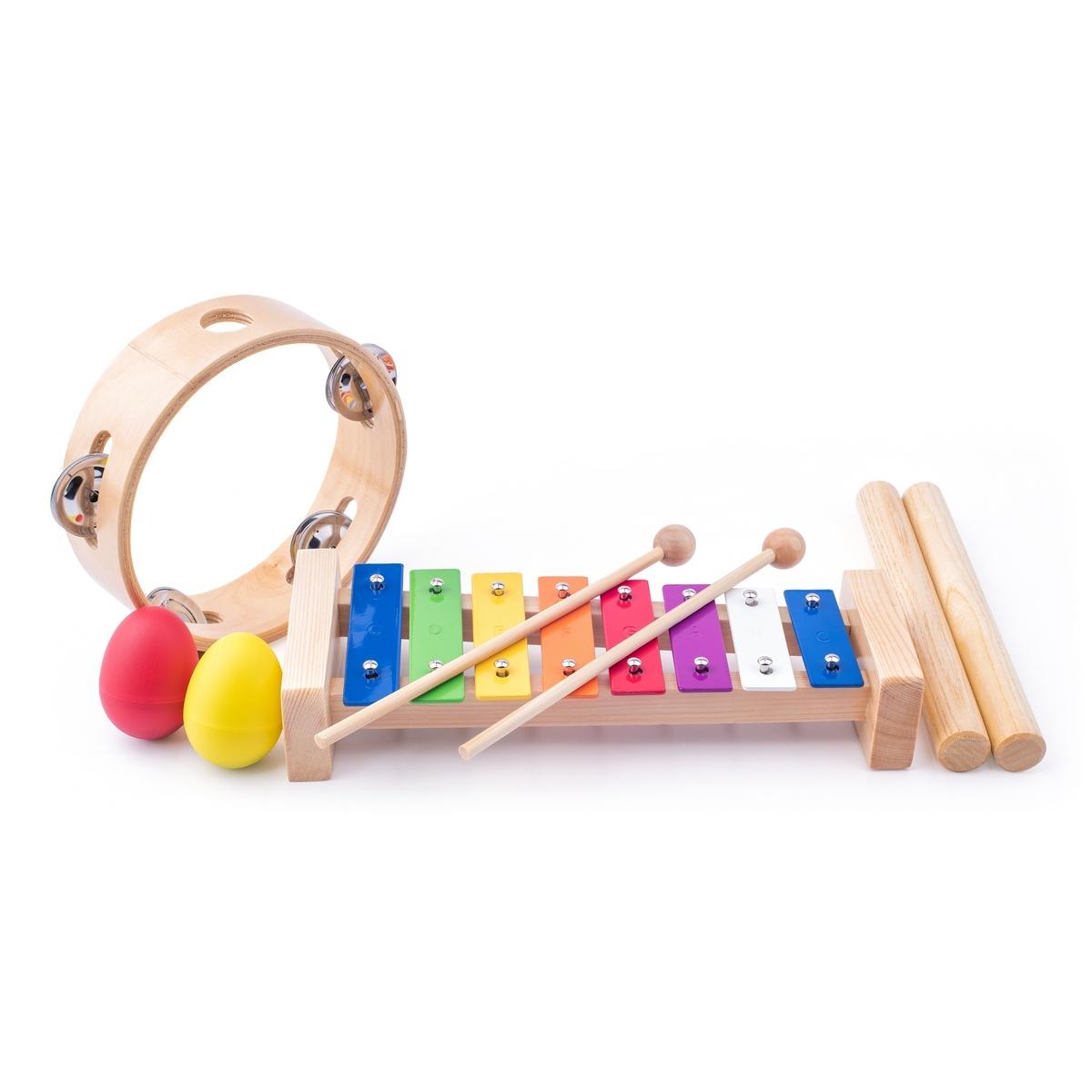 Woody Sada hudebních nástrojů, 5 ks