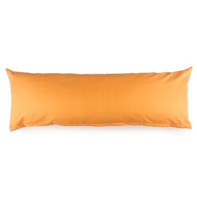 4Home Povlak na Relaxační polštář Náhradní manžel oranžová, 55 x 180 cm