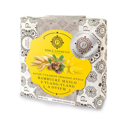 Topvet mydlo Bambucké maslo s ylang-ylang a ovsom,