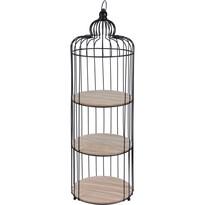 Kruhová police Bird Cage 3 patra, 25 x 80 cm
