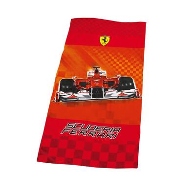 Osuška Ferrari Race, 75 x 150 cm