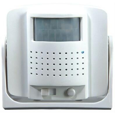 Solight dveřní alarm - gong bílá