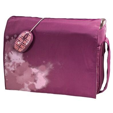 Set pro notebook 40 cm - růžová
